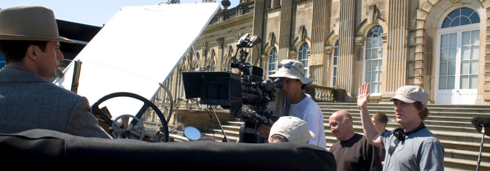 Filming Brideshead at Castle Howard