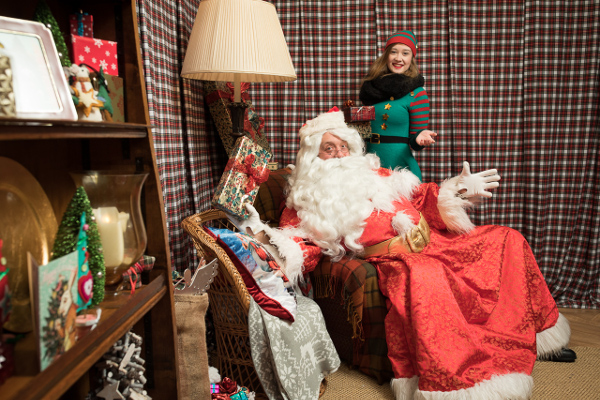 Drop in Santa's Grotto