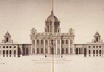 Drawing of North elevation