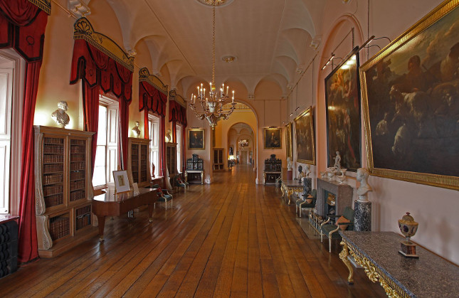 Castle Howard Used As A Filming Location In Itvs New