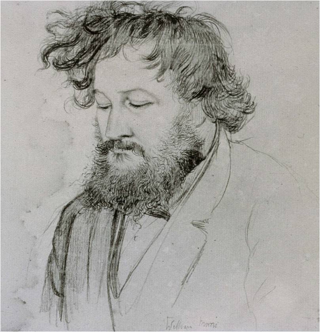 William Morris sketch